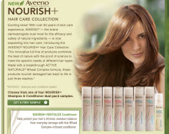 Free Sample of AVEENO NOURISH Hair Care Collection