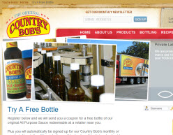 Free Country Bob's All Purpose Sauce Bottle