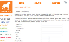 Free DOGSWELL Samples