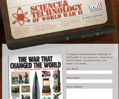 Free Science and Technology of WWII Poster For School Teachers