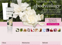 Free Sample of Bodycology Body Lotion