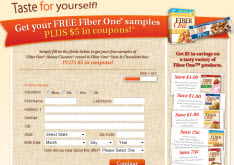 Free Fiber One Honey Clusters Cereal Sample and Coupon