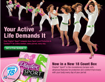 Free Sample of Playtex Sport