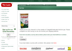 Free Sample of Calagel Medicated Anti-itch Gel