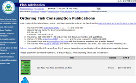 Free Fish Consumption Posters, Magnets, Keytags