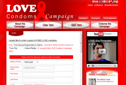 Free LOVE Condoms
