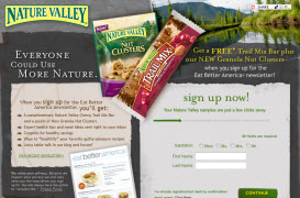 Free Nature Valley Nut Clusters Samples