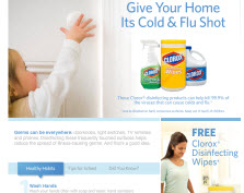 Free Clorox® Disinfecting Wipes Sample