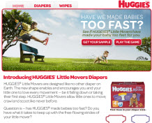 Free Sample of Huggies® Little Movers