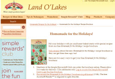 Free Homemade for the Holidays! Recipe Brochure