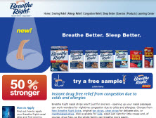 free Breathe Right Extra Samples