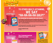 Free Sample Of EmergenC