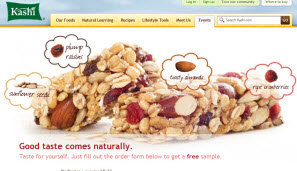Free Kashi TLC Chewy Trail Mix Granola Bars