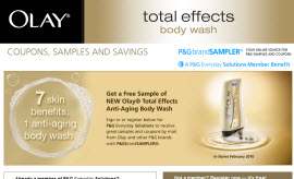 Free Olay Total Effects Anti-Aging Body Wash