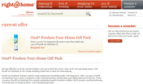 Free Oust® Air Sanitizer First 10,000