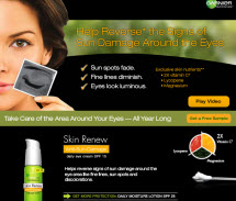 Free Sample of Garnier Nutritioniste Daily Eye Cream