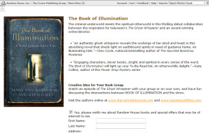 Free Copy of The Book of Illumination by Mary Ann Winkowski