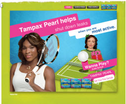 Free Sample of Tampax Pearl