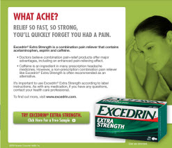 Free Sample of Excedrin Extra Strength
