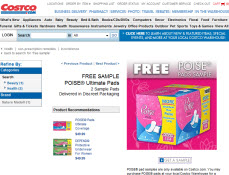 Free Poise Pads