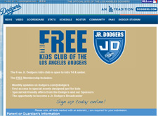 Free Los Angeles Dodgers Jr. Dodgers Fan Club Kit