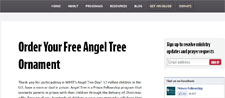 Free Angel Tree Ornament