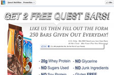 Free Quest Protein Bars