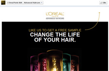 Free L'Oreal Paris Sample