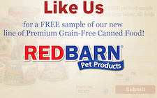 Free Redbarn Premium Pet Products Sample