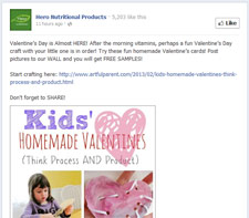 Free Homemade Valentine's Cards
