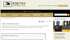 Free April 2013 issue of POETRY!