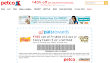 Free Friskies or Fancy Feast Cat Food Coupon