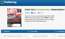 Free Chevy High Performance Magazine Subscription