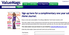 Free Ladies Home Journal Magazine Subscription