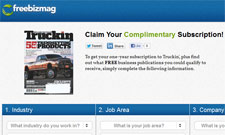 Free Truckin Magazine Subscription