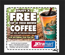 Free XtraMart Coffee Coupon