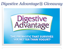 Free Digestive Advantage® Daily Probiotic April 9th