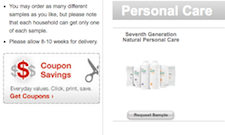 Free Seventh Generation Natural Personal Care Sample