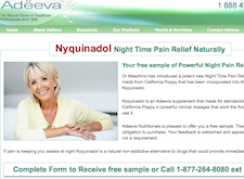 Free Sample of Powerful Night Pain Relief
