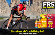 Free FRS Natural Energy Sample Kit on 4/25 8PM EST - First 5,000