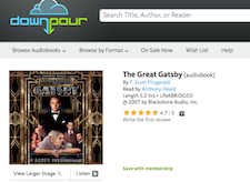 Free Great Gatsby Audio Book