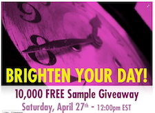 Free Dermasilk Sample First 10,000 4/27 12PM EST