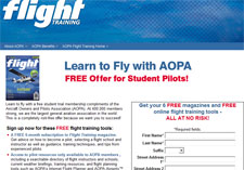 Free 6-Month Subscription to AOPA Flight Training Magazine