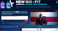 Free New Mio Fit Water Enhancer Sample