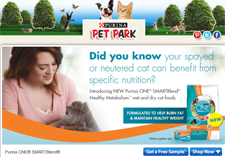 Free Purina ONE Healthy Metabolism Cat Food Sample