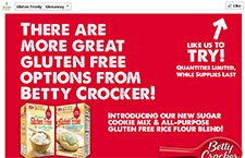 Free Betty Crocker Glueten Free Rice Flour Blend - First 25000