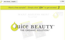 Free Juice Beauty Stem Cellular Repair Moisturizer Sample
