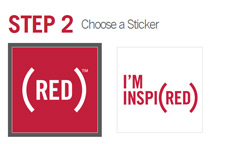 Free (RED) Sticker