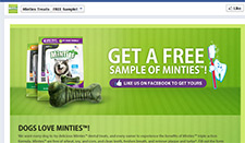 Free Minties Dog Treat Sample