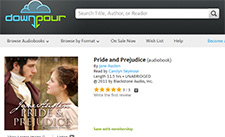 Free Pride and Prejudice Audiobook Download